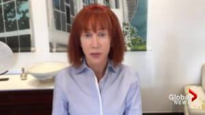 Comedian Kathy Griffin apologizes for decapitated Donald Trump photo