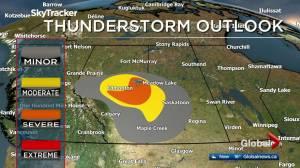 Edmonton afternoon weather forecast: Wednesday, July 10, 2019