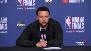 NBA Finals: Steph Curry  reflects on Siakam's 32-point game: 'his motor is none stop'