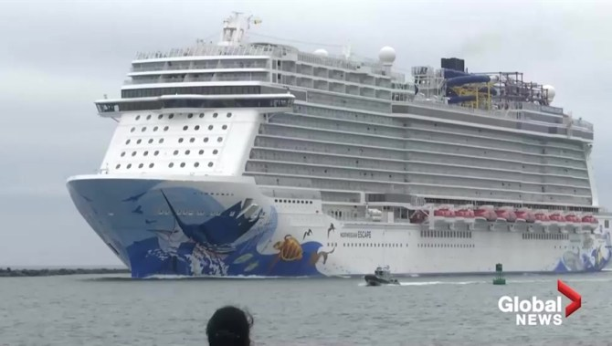 Norway cruise passengers rescued by helicopter after ship's engine fails