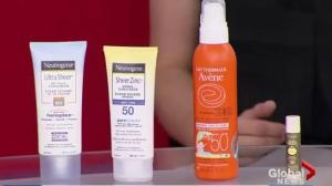 Healthy Living: sunscreen tips
