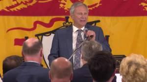 New Brunswick election: Blaine Higgs full speech from PC Headquarters
