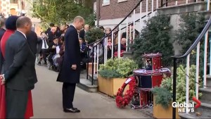 Prince Williams attends remembrance service honouring fallen submariners