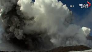 10 injured in dramatic eruption at Italy's Mt. Etna