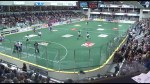 Lakers and Maple Ridge meet, before the Mann Cup games begin