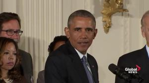 Obama rejects the thinking that enhanced gun control laws wouldn't have help prevent some mass shootings