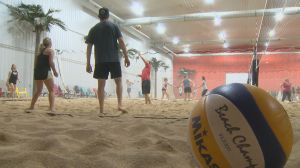 Unassuming warehouse offers indoor escape at 'The Beach'