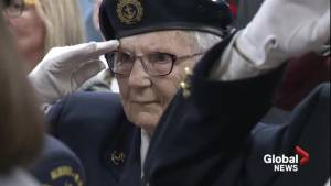 Calgary D-Day veteran shares her story of keeping 'the biggest secret ever' (02:08)