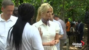 Ivanka Trump in Africa to promote women's empowerment