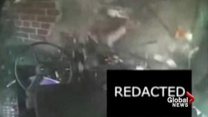 Video captures terrifying crash of Detroit city bus