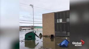 Quebec town flooded after ice jam gives way
