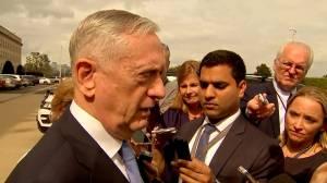 U.S. Defence Secretary Mattis says Nikki Haley has been 'wonderful representative' for U.S. (00:34)