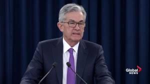 "U.S. government shutdown has left ""imprint"" on first quarter GDP: Powell"