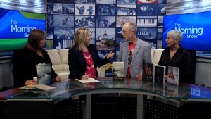Local authors talk writing and publication on The Morning Show on CKWS