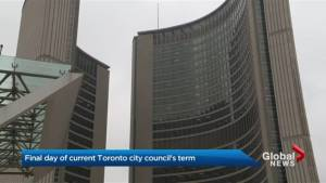 Outgoing Toronto city councillors pack up as incoming council gears up for new term
