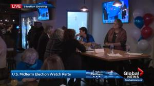 Americans in Edmonton keep an eye on U.S. mid-term elections