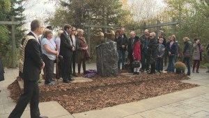 Sculpture honouring the McCanns is unveiled in St. Albert