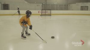 Playing the game of hockey against all odds