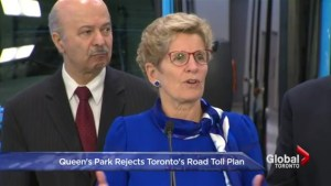 Province denies Toronto bid for tolls, gives cities greater share of gas tax dollars
