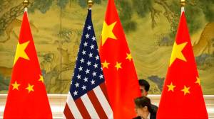 Stocks drop as U.S., China step up verbal attacks in trade war
