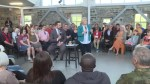 Andrea Horwath stops by Kingston to host a health care town hall