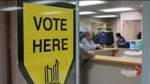 Will the advance polls predict a robust voter turnout in Toronto?