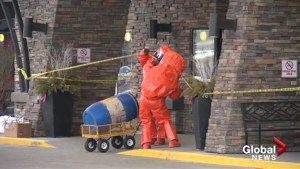 Chemical gas released at Okanagan hotel
