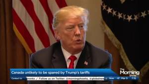 Canada unlikely to be spared by Trump's tariffs