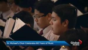 St. Michael's Choir School celebrates 80 years in Toronto