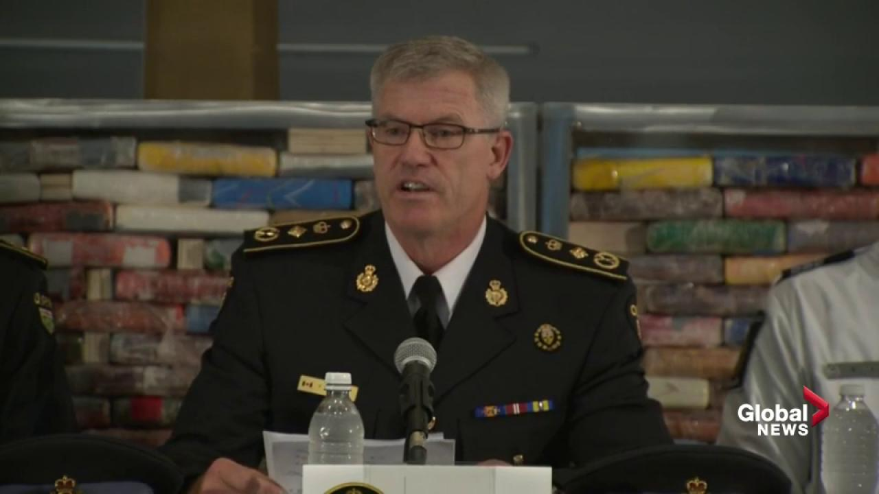 OPP's historic $250M cocaine seizure linked to Port of Montreal