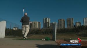 Victoria Driving Range open in Edmonton