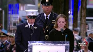 9/11 victims families read letter to their parents