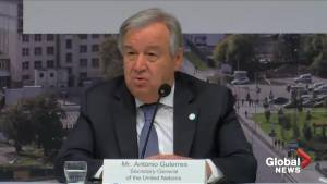 U.N.'s chief: 'We are off-track, we need more ambition' on climate change action