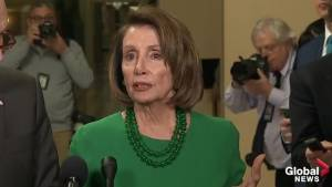 'Maybe he thinks if the government shut downs, he can golf more': Pelosi on shutdown