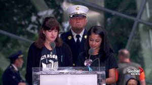 Families of 9/11 victims read letters to the loved ones