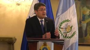 Honduran, Guatemalan presidents discuss migrant caravan