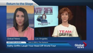 Comedian Kathy Griffin talks about her new tour