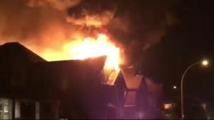 Major fire in Chilliwack damages multiple homes