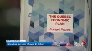 Quebec government increases spending by over $4 Billion dollars