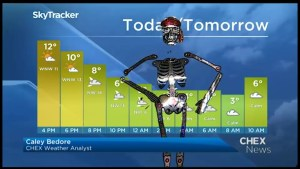 Details on your trick-or-treating forecast