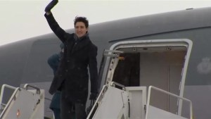 Trudeau departs for World Economic Forum in Davos