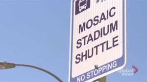 New location added after Normanview Crossing opts out of free shuttle to Mosaic Stadium