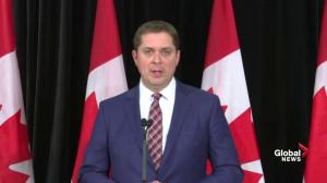 Scheer says there's 'enough of a base' for RCMP investigation into SNC-Lavalin controversy