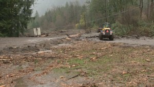 Multiple mudslides close Trans-Canada Highway