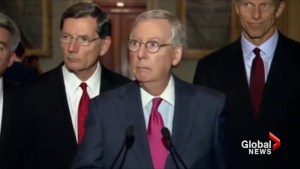 McConnell: No concerns about Trump's handling of classified info