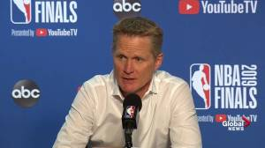 NBA Finals: 'We're playing a really good team': Kerr on defensive woes in Game 4