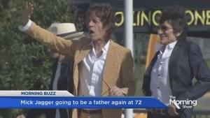 Jagger to become father at 72