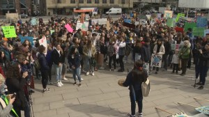 Vancouver students rally for climate change action