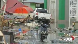 Raw video shows damage in quake hit Palu city