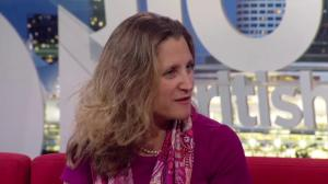 One-on-one with Canada's foreign minister Chrystia Freeland